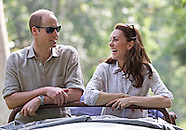 Kate Middleton & Prince William Take Game Drive, Kaziranga 2