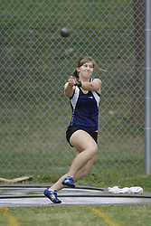 Weston, Katie competing in the women's hammer throw final at the 2007 OTFA Junior-Senior Championships held in Ottawa from 30 June to July 1.