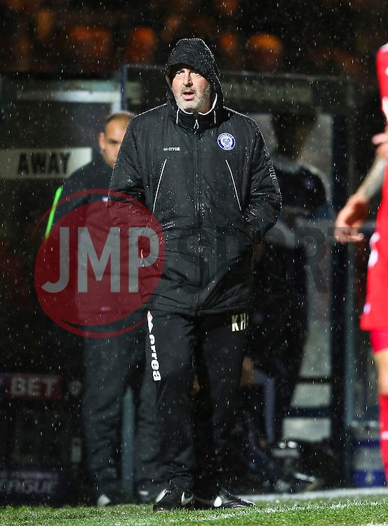 Rochdale Manager Keith Hill  - Mandatory byline: Matt McNulty/JMP - 07966 386802 - 06/10/2015 - FOOTBALL - Spotland Stadium - Rochdale, England - Rochdale v Chesterfield - Johnstones Paint Trophy