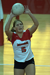 22 October 2006: Jesica Pratapas.&#xD;Illinois State University swept Evansville in 3 straight games of a best of 5 match. The Evansville Purple Aces met the Redbirds of Illinois State at Redbird Arena on the campus of Illinois State University in Normal Illinois.<br />