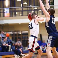 Men's Basketball: Macalester College Scots vs. Northland College Lumberjack