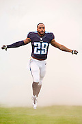 NASHVILLE, TN - NOVEMBER 29:  Perrish Cox #29 of the Tennessee Titans runs onto the field before a game against the Oakland Raiders at Nissan Stadium on November 29, 2015 in Nashville, Tennessee.  The Raiders defeated the Titans 24-21.  (Photo by Wesley Hitt/Getty Images) *** Local Caption *** Perrish Cox