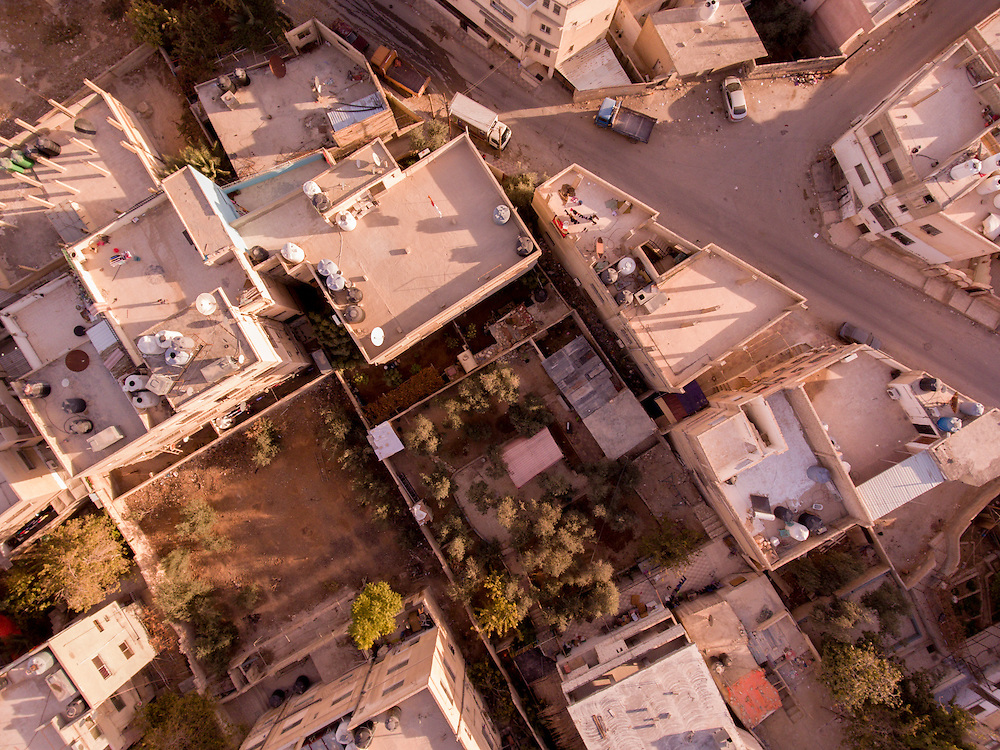 Drone photography for the Millennium Challenge Corporation in Zarqa Jordan.