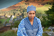 During a visit to Nant Gwrtheyrn, a trust her country has links with