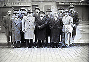 group of dignitaries posing for an image France 1940s