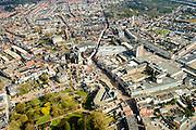 Nederland, Noord-Brabant, Roosendaal, 01-04-2016; overzicht binnenstad Roosendaal met Emile van Loonpark, Markt en Nieuwe Markt (rechts vh midden).<br /> Cityscape Bergen op Zoom.<br /> <br /> luchtfoto (toeslag op standard tarieven);<br /> aerial photo (additional fee required);<br /> copyright foto/photo Siebe Swart
