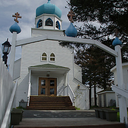 Holy Resurrection Church, Kodiak Island, Alaska, US