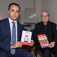Luigi Di Maio visita la Caritas di Roma