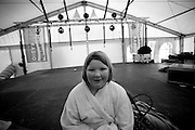 Every year on the 1st January people travel to Boltenhagen in northern Germany for the annual swim in the icy waters of the Baltic Sea.  First up there are 2 professionals who embrace the first dip in an effort to test to waters for the others.  Next up to pass the icy pillars of the pier are 31 kids, then 58 women, then 106 men.  The outside temperature is -2 degrees and the water temperature is just above freezing.  The tradition has been running now for 13 years.  Image © Arsineh Houspian/Falcon Photo Agency