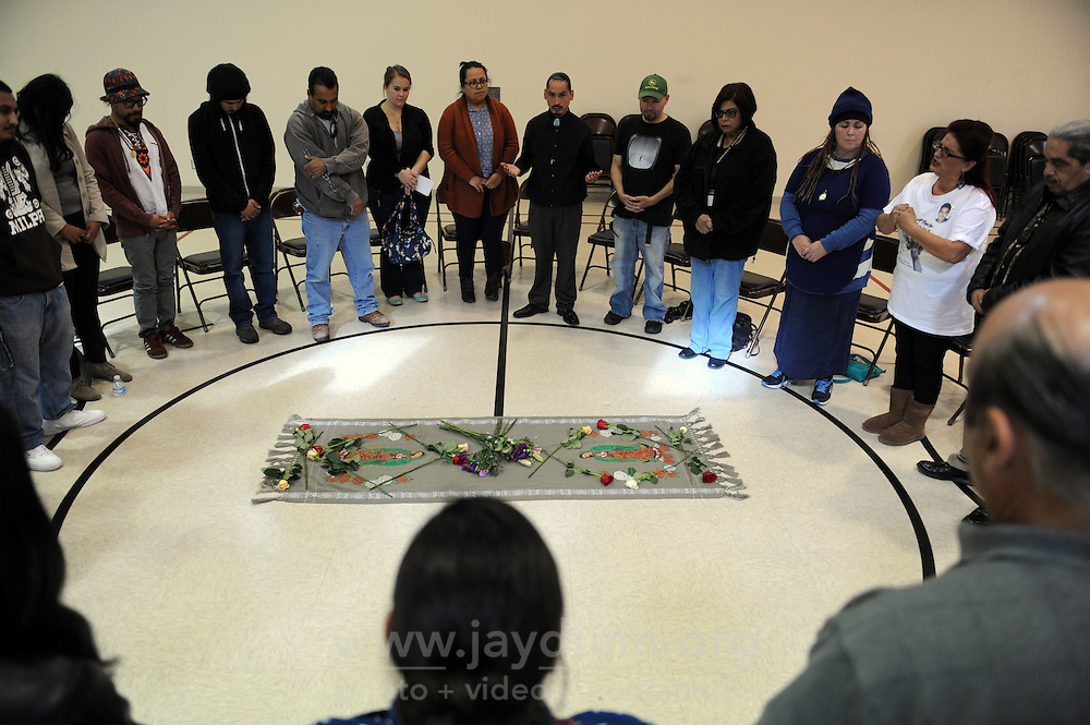 In response to a number of shootings in Salinas, more than thirty community leaders met late Monday afternoon at Jesse Sanchez Elementary School for a healing circle led by Jerry Tello.