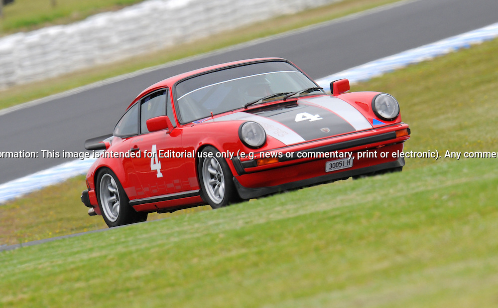 Jim H Catts - Porsche 911.Historic Motorsport Racing - Phillip Island Classic.18th March 2011.Phillip Island Racetrack, Phillip Island, Victoria.(C) Joel Strickland Photographics.Use information: This image is intended for Editorial use only (e.g. news or commentary, print or electronic). Any commercial or promotional use requires additional clearance.