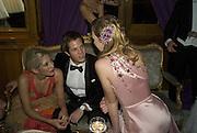 JESSICA ANDREWS, OLIVER WALSH AND LADY TATIANA MOUNTBATTEN. Crillon Debutante Ball 2007,  Crillon Hotel Paris. 24 November 2007. -DO NOT ARCHIVE-© Copyright Photograph by Dafydd Jones. 248 Clapham Rd. London SW9 0PZ. Tel 0207 820 0771. www.dafjones.com.