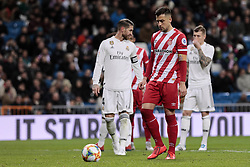 January 24, 2019 - Madrid, Spain - Girona FC's Alex Granell during Copa del Rey match between Real Madrid and Girona FC at Santiago Bernabeu Stadium. (Credit Image: © Legan P. Mace/SOPA Images via ZUMA Wire)