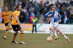 Oliver McBurnie of Bristol Rovers - Mandatory byline: Alex James/JMP - 19/03/2016 - FOOTBALL - Rodney Parade - Newport, England - Newport County v Bristol Rovers - Sky Bet League Two