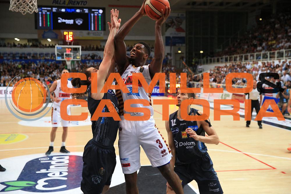 Ejim Melvin<br /> Dolomiti Energia Trento - Umana Venezia<br /> Finale Gara 6<br /> Legabasket A 2016/2017<br /> Trento 20/06/2017<br /> Foto Ciamillo-Castoria