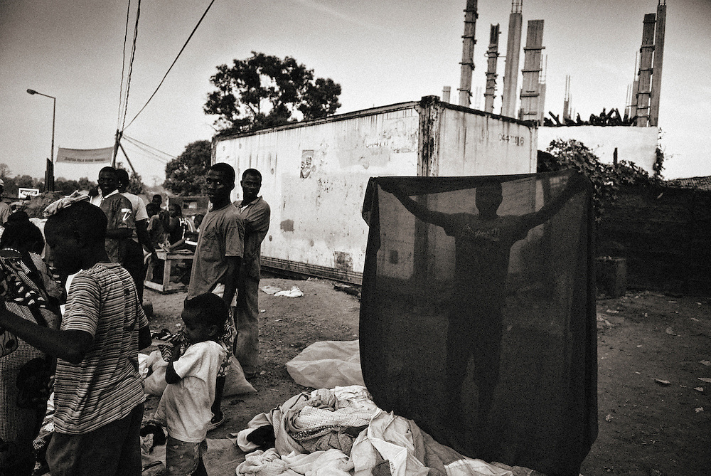 Bissau, the city and the market.