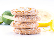 key lime and lemon cookies