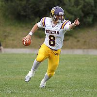 riordan #8 - zach masoli Riordan v. Lincoln football - 091212
