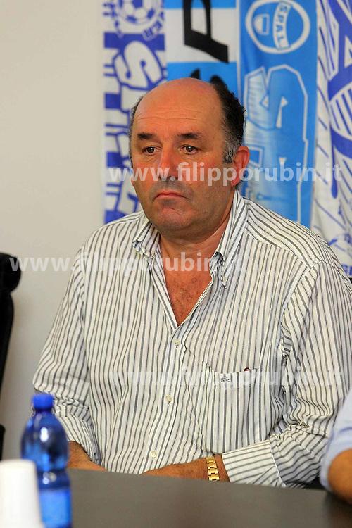 PRESENTAZIONE REAL SPAL 2012-2013: ROBERTO BENASCIUTTI