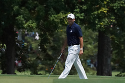 August 10, 2018 - St. Louis, Missouri, United States - Sergio Garcia approaches the 9th green during the second round of the 100th PGA Championship at Bellerive Country Club. (Credit Image: © Debby Wong via ZUMA Wire)