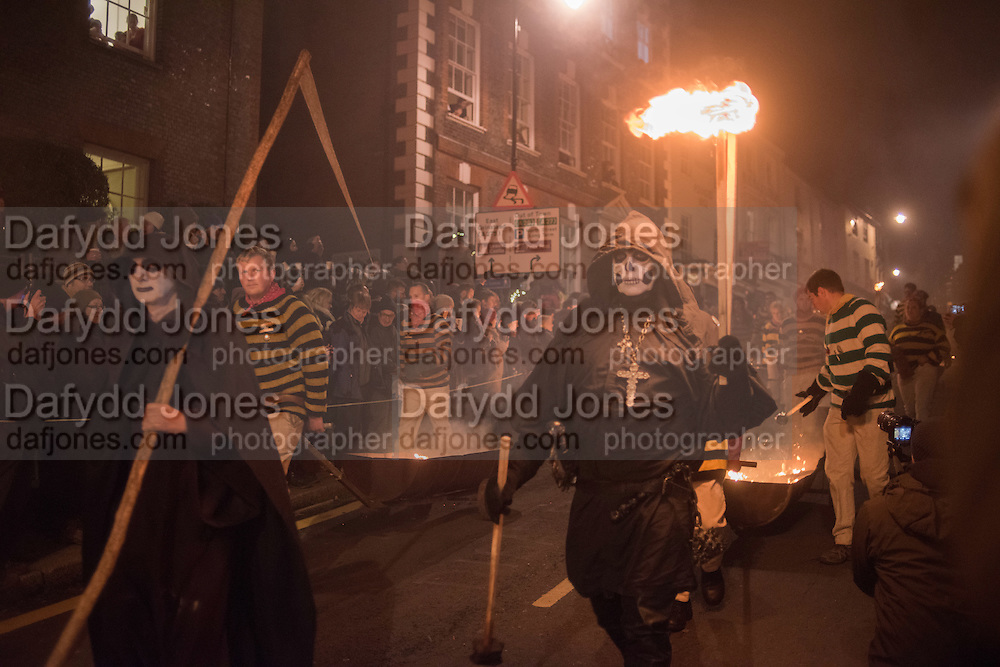 Lewes Bonfire Night Celebrations , November 5th 2016