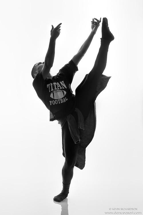 Black and white dance photography- Reach- featuring Dance As Art dancer Jarrett Rashad