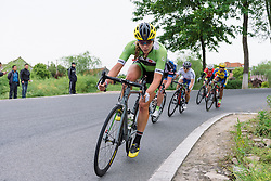Alison Tetrick (Cylance Pro Cycling) - Tour of Chongming Island 2016 - Stage 2. A 113km road race on Chongming Island, China on May 7th 2016.