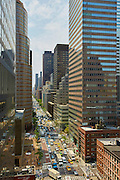 View down Third Avenue from 200 East 57th Street, 16th floor