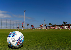 A general view of a Bristol City training ball pitch side at the Tenerife Top Training centre during an open training session - Mandatory by-line: Matt McNulty/JMP - 20/07/2017 - FOOTBALL - Tenerife Top Training Centre - Costa Adeje, Tenerife - Pre-Season Training