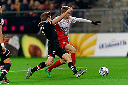 23-11-2019 NED: FC Utrecht - AZ Alkmaar, Utrecht<br /> Round 14 / Simon Gustafson #10 of FC Utrecht, Jonas Svensson #2 of AZ Alkmaar