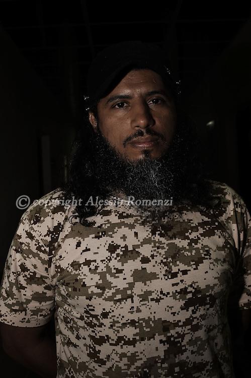 Libya, Misurata: Portrait of Ziad Balam. Alessio Romenzi