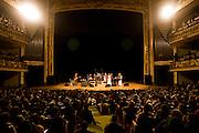 Sao Paulo_SP, Brasil...Show de Tom Ze no Teatro Municipal...The Tom Ze show in Teatro Municipal...Foto: MARCUS DESIMONI / NITRO