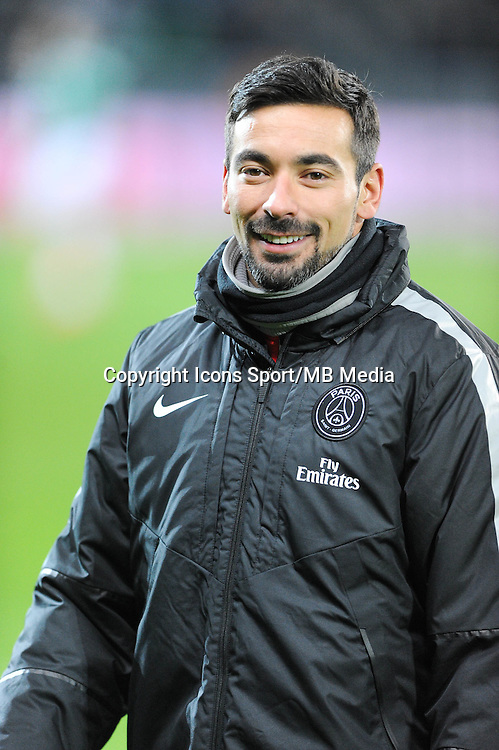 Ezequiel LAVEZZI - 25.01.2015 - Saint Etienne / PSG - 22eme journee de Ligue1<br /> Photo : Jean Paul Thomas / Icon Sport
