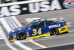 September 14, 2018 - Las Vegas, Nevada, United States of America - Michael McDowell (34) brings his race car down the front stretch during practice for the South Point 400 at Las Vegas Motor Speedway in Las Vegas, Nevada. (Credit Image: © Chris Owens Asp Inc/ASP via ZUMA Wire)