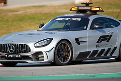 February 28, 2019 - Montmelo, BARCELONA, Spain - Safety car in action during the winter testing days at the Circuit de Catalunya in Montmelo (Catalonia), Thursday, February 28, 2019. (Credit Image: © AFP7 via ZUMA Wire)