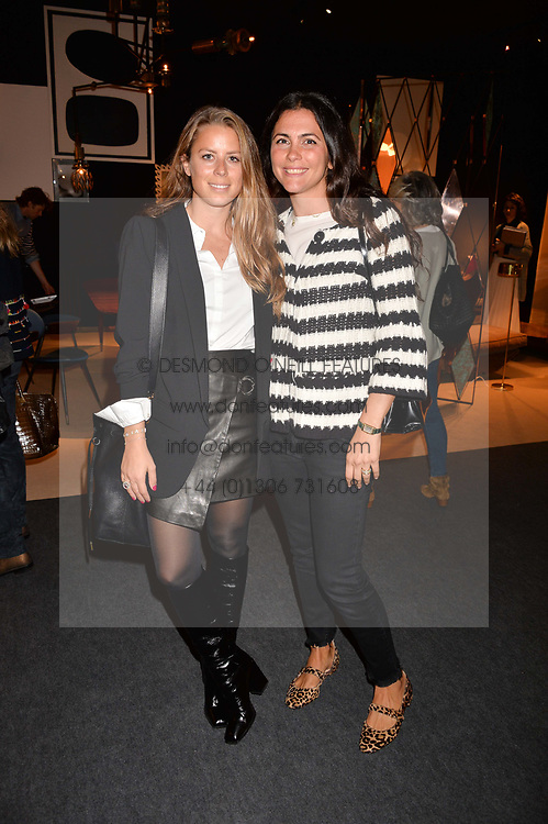 Lydia Forte and Fiorella Ballabio at the 2017 PAD Collector's Preview, Berkeley Square, London, England. 02 October 2017.
