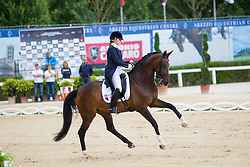 Aubry Milena (FRA) - Uline<br /> European Championships Dressage Junior and Young Riders 2014<br /> © Hippo Foto - Leanjo de Koster