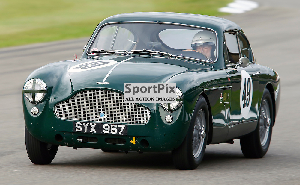 GOODWOOD REVIVAL....John Gross during qualifying for the weekend races...(c) STEPHEN LAWSON | SportPix.org.uk