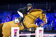 Marcus Ehning - Pret a Tout<br /> Jumping Indoor Maastricht 2017<br /> © DigiShots