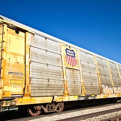 A Union Pacific Train Box Car
