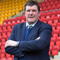 St Johnstone Manager Tommy Wright.....28.02.15<br /> <br /> Picture by Graeme Hart.<br /> Copyright Perthshire Picture Agency<br /> Tel: 01738 623350  Mobile: 07990 594431