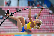 Lisa Gunnarsson (SWE) wins the Silver Medal Medal in Pole Vaullt Women during the IAAF World U20 Championships 2018 at Tampere in Finland, Day 3, on July 12, 2018 - Photo Julien Crosnier / KMSP / ProSportsImages / DPPI