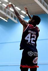 Levi Bradley of Bristol Flyers - Photo mandatory by-line: Ryan Hiscott/JMP - 15/11/2019 - BASKETBALL - SGS Wise Arena - Bristol, England - Bristol Flyers v London City Royals - British Basketball League Cup