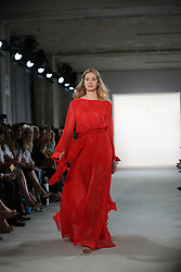 July 4, 2017 - Berlin, Berlin-Mitte, Germany - The photo shows models with the Ewa Herzog collection on the catwalk. (Credit Image: © Simone Kuhlmey/Pacific Press via ZUMA Wire)