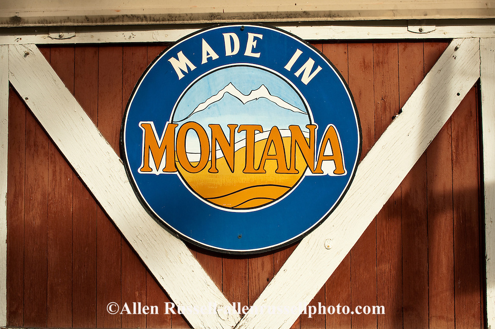 Made In Montana sign