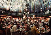 The restaurant at Printemps department store.