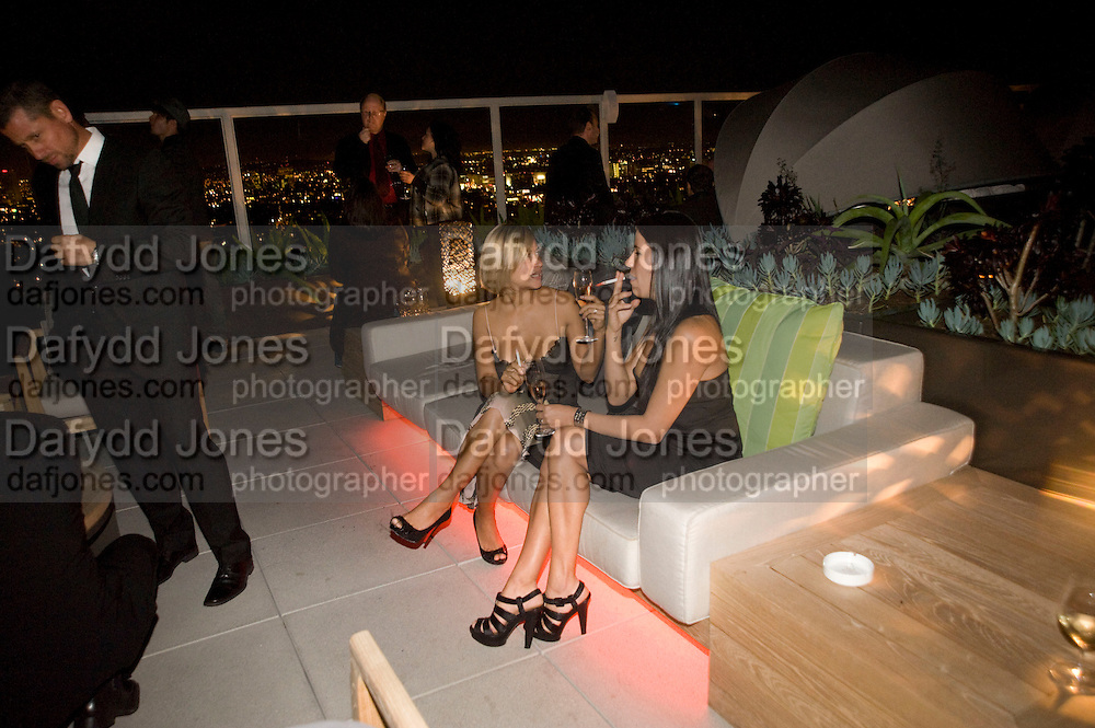 VALLY FERNANDEZ; GIOVANA AYALA, Vanity fair and Bally's 'Hollywood Domino' party to benefit The Art of Elysium at the Andaz Hotel, Sunset Boulevard. West Hollywood. 20 February 2009 *** Local Caption *** -DO NOT ARCHIVE-© Copyright Photograph by Dafydd Jones. 248 Clapham Rd. London SW9 0PZ. Tel 0207 820 0771. www.dafjones.com.<br /> VALLY FERNANDEZ; GIOVANA AYALA, Vanity fair and Bally's 'Hollywood Domino' party to benefit The Art of Elysium at the Andaz Hotel, Sunset Boulevard. West Hollywood. 20 February 2009