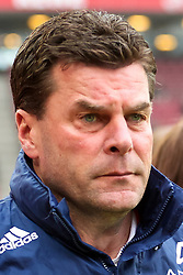 03.04.2010,  Rhein Energie Stadion, Koeln, GER, 1.FBL, FC Koeln vs 1. FC Nuernberg, 28. Spieltag, im Bild: Dieter Hecking (Trainer Nuernberg)  EXPA Pictures © 2011, PhotoCredit: EXPA/ nph/  Mueller       ****** out of GER / SWE / CRO  / BEL ******