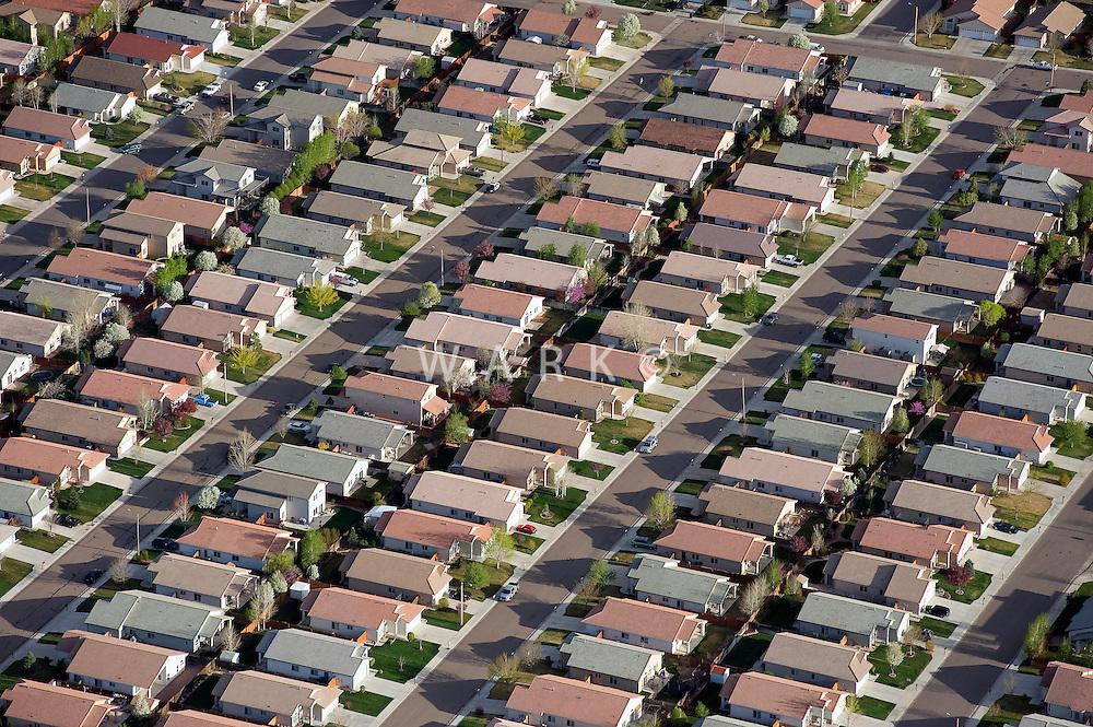 Housing Development aerial