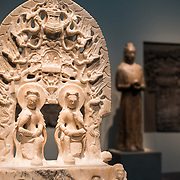 Exhibits of Asian art in the Freer Gallery of Art in Washington DC. Sitting on the National Mall and part of the Smithsonian Institution, the Freer Gallery opened in 1923 to house the art collection of Charles Lang Freer. It has since been merged with the Arthur M. Sackler Gallery to form the National Museum of Asian Art for the United States of America.